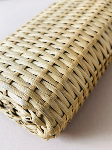 The Artist Tara - Antique Wicker Covered Bottle