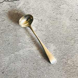 The Headhunter Tate - Antique Silver Mustard Spoon - 1797