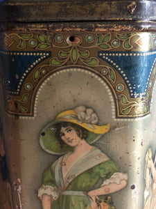 The Mixologist Stephen - Large Antique Advertising Tin