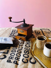 Load image into Gallery viewer, The Director Faye - Antique French Peugeot Freres Coffee Grinder