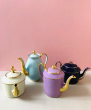 Load image into Gallery viewer, The Punk Francis - Legle Limoges Navy Teapot