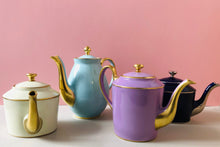 Load image into Gallery viewer, The Punk Adrian - Legle Limoges Yellow Teapot