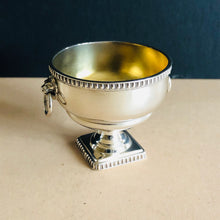 Load image into Gallery viewer, Master Leo - Silver Saltcellar With Lions Head Detail