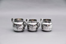 Load image into Gallery viewer, Master Aston - American Quadruple Plate Sugar and Creamer Set