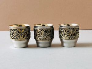 Master Beccy - Filigree Decorated Sliver Cup