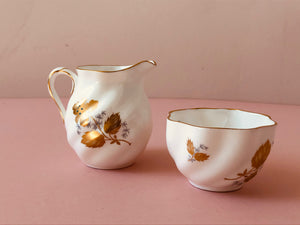 Master Dane - Ceramic Sugar and Creamer Set by Coleport
