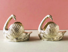 Load image into Gallery viewer, Master Hayden - Stunning Vintage Silver Swan Dishes