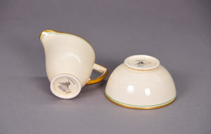 Master James - Ceramic Sugar and Creamer Set by Wedgwood for Hermes