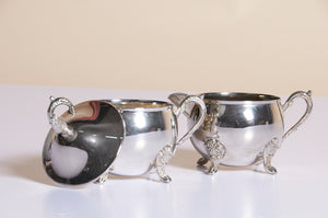 Master Kimberly - Vintage Silver Sugar and Cream Set