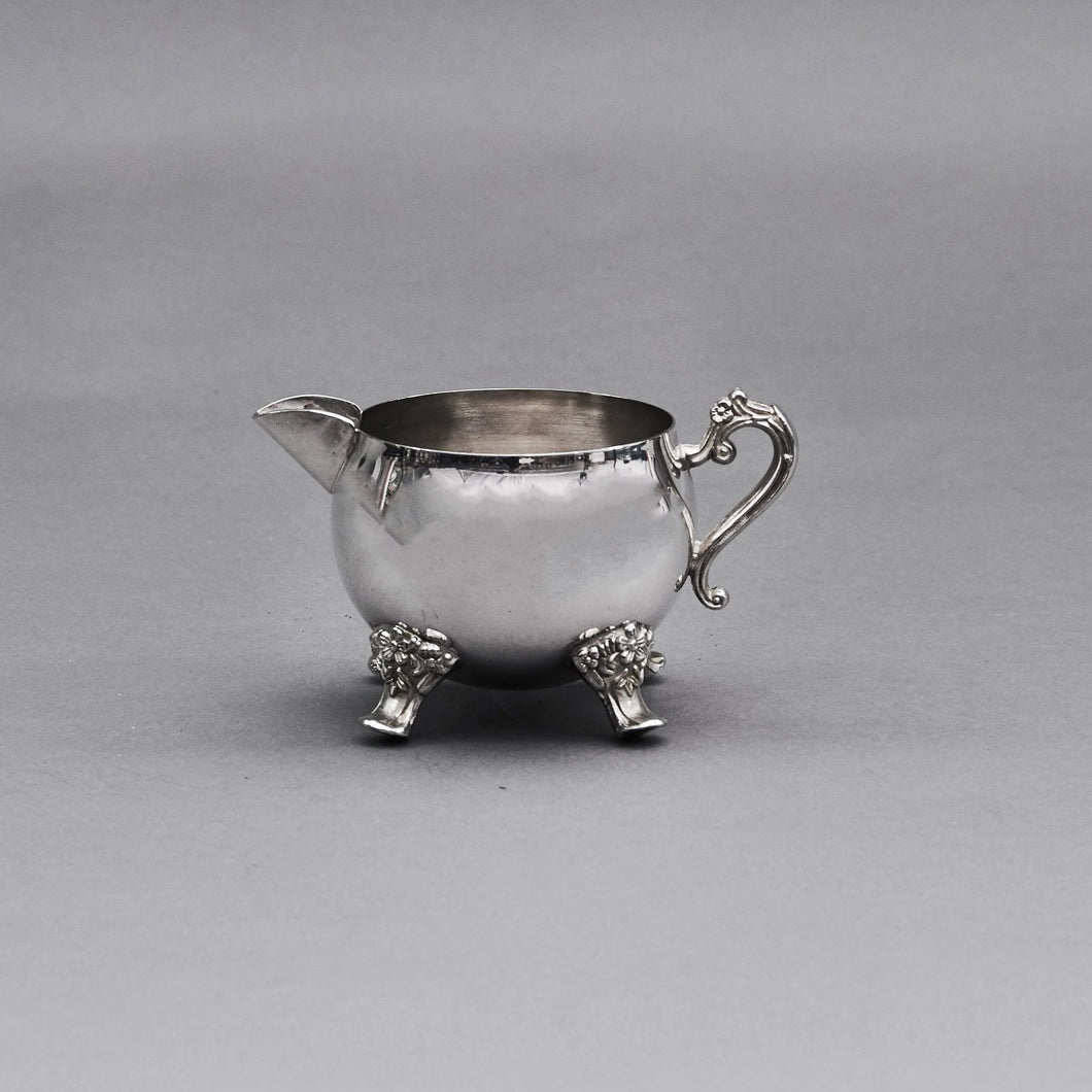 Master Mario - Sliver Plate Ornate Footed Cream Jug