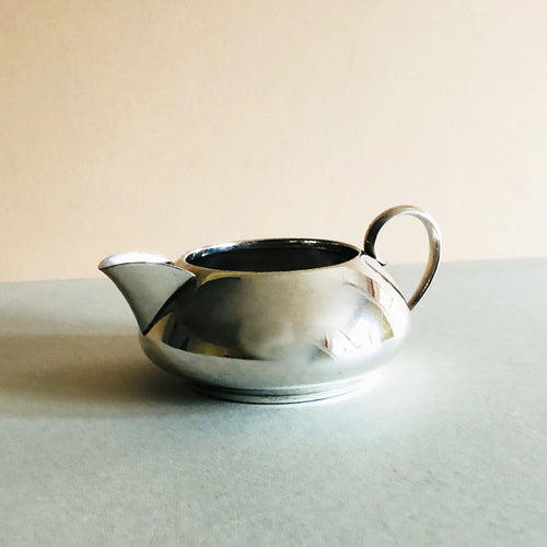 Master Rudolph - Antique Silver Plate Shallow Cream Jug