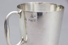 Load image into Gallery viewer, Master Steve - Half Pint Silver Plate Tankard