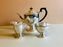 Load image into Gallery viewer, Master Tarin - Engraved Vintage Silver Sugar Bowl and Creamer