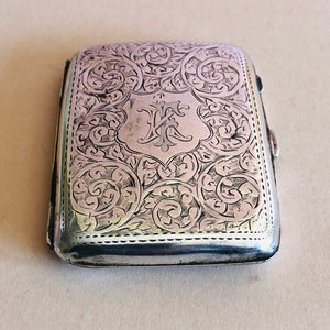 The Mixologist Jude - Antique Silver Card Case