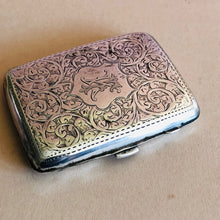 Load image into Gallery viewer, The Mixologist Jude - Antique Silver Card Case