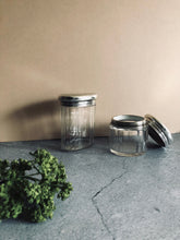 Load image into Gallery viewer, The Mixologist Mario - Oval Glass Vanity Jar With Solid Silver Lid