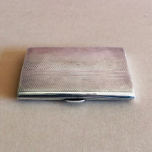 Load image into Gallery viewer, The Mixologist Mary - Vintage Silver Card / Cigarette Case