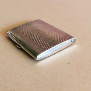 The Mixologist Mary - Vintage Silver Card / Cigarette Case