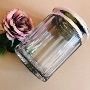 The Mixologist Riley - Extra Large Glass Container with Silver Lid
