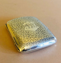Load image into Gallery viewer, The Mixologist Max - Antique Silver Card Case