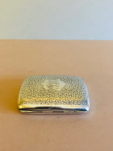The Mixologist Max - Antique Silver Vespa Card Case