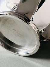 Load image into Gallery viewer, The Mixologist  Meredith - Antique Silver Plate Jar With Silver Lid