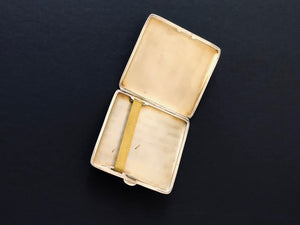 The Mixologist Vincent - Antique Silver Card / Cigarette Case