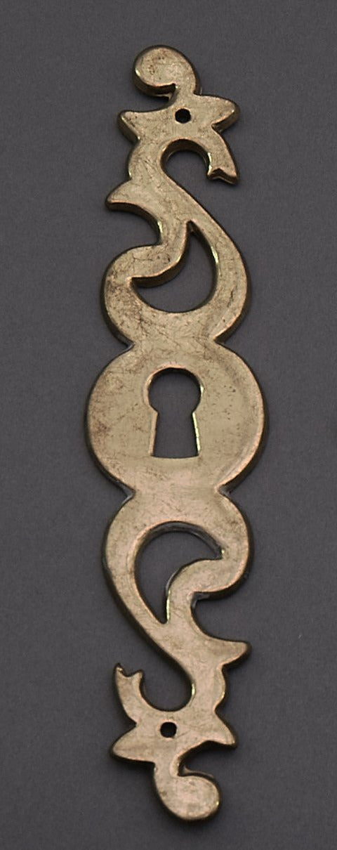 The Pimp Madison - Pair of Antique Key Hole Escutcheon / Keyhole Cover