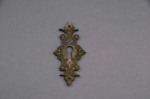 The Pimp Adrian - Gothic Style Antique Escutcheon / Keyhole Cover