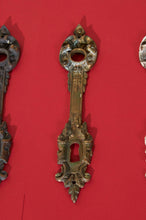 Load image into Gallery viewer, The Pimp Carlson - Antique Salvage Back Plate Escutcheons