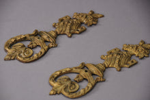 Load image into Gallery viewer, The Pimp Courtney - Pair of Decorative Salvage Brass Plaques