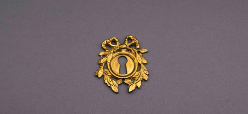 The Pimp Hayley - Antique Escutcheon / Keyhole Cover