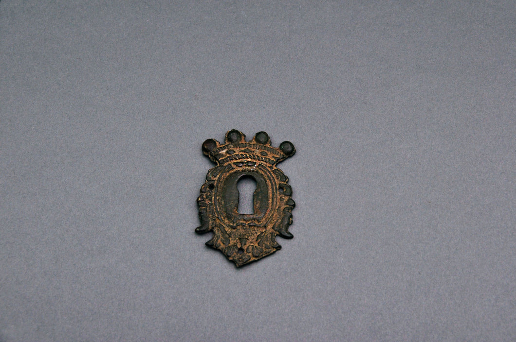 The Pimp Rudolph - Antique Escutcheon / Antique Keyhole Cover