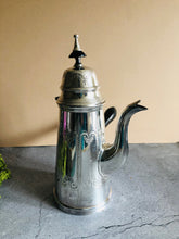 Load image into Gallery viewer, The Punk Peyton - Victorian Silver Plate Chocolate Pot