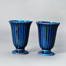 Load image into Gallery viewer, The Punk Ashley - Dartmouth Ceramic Vase with Textured Ripple Body