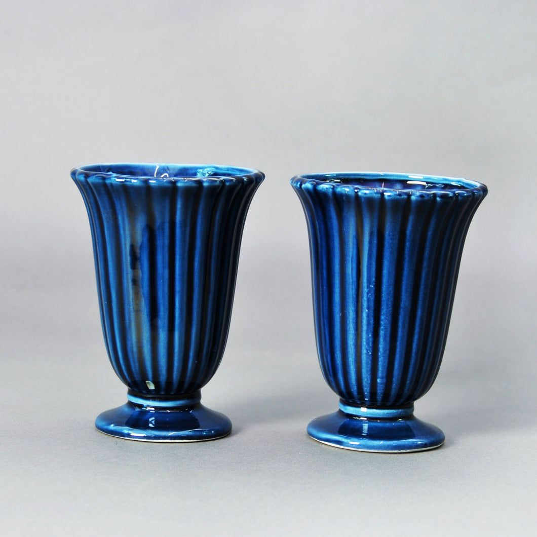 The Punk Ashley - Dartmouth Ceramic Vase with Textured Ripple Body