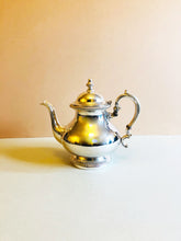 Load image into Gallery viewer, The Punk Aubrey - Large Victorian Style Silver Teapot