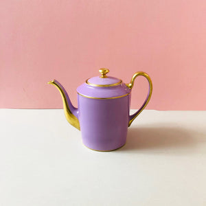 The Punk Elizabeth - Legle Limoges Lilac Teapot