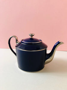 The Punk Francis - Legle Limoges Navy Teapot