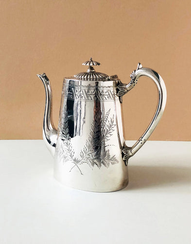 The Punk Harper - Victorian Ornate Silver Coffee Pot