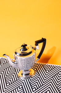 The Punk Heidi - Chippendale Silver Plate Coffee Pot