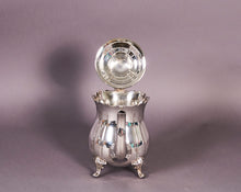 Load image into Gallery viewer, The Punk Lance - Vintage scalloped edge silver teapot
