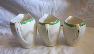 The Punk Mila - Alfred Meakin Ceramic Cream Jugs