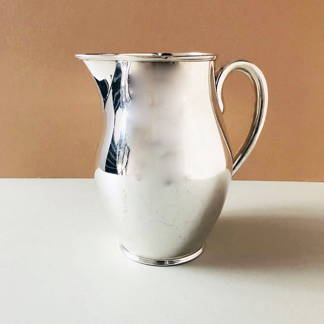 The Punk Ryan - Large Silver 1800's Pitcher