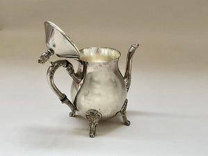The Punk Shelby - Ornate Footed Vintage Teapot