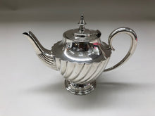 Load image into Gallery viewer, The Punk Tess - Antique Silver Bachelor Teapot