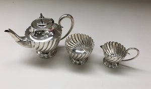 The Punk Tess - Antique Silver Bachelor Teapot