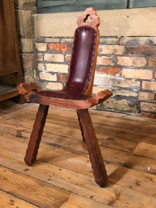 The Sergeant Edward - Vintage Corner Chair