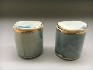 The Sommelier Bailey - Unique Handmade Porcelain Lidded Pot