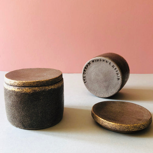The Sommelier Hazel - Unique Handmade Ceramic Lidded Pot